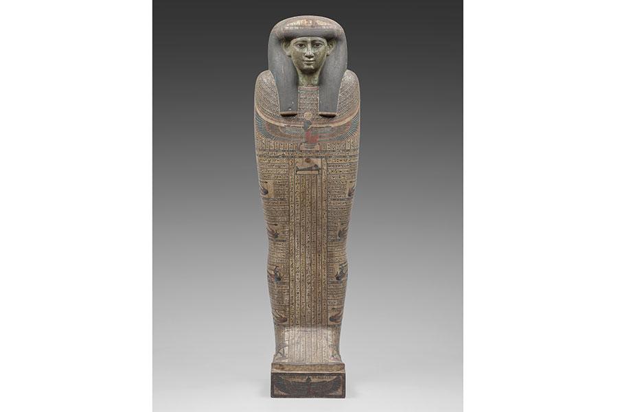 『タイレトカプの人型木棺(内棺)』 前746~前525年 © Staatliche Museen zu Berlin Ägyptisches Museum und Papyrussammlung / S. Steiß