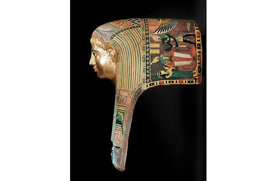 『パレメチュシグのミイラ・マスク』 後50~後100年頃  © StaatlicheMuseen zu Berlin Ägyptisches Museum und Papyrussammlung / M. Büsing