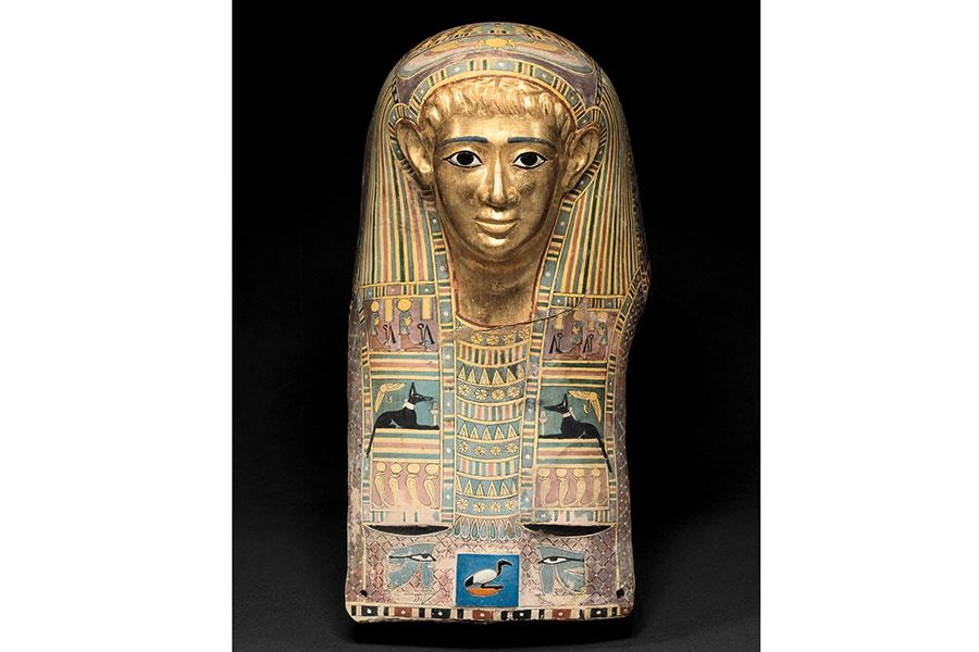 『パレメチュシグのミイラ・マスク』 後50~後100年頃 © Staatliche Museen zu Berlin Ägyptisches Museum und Papyrussammlung / M. Büsing