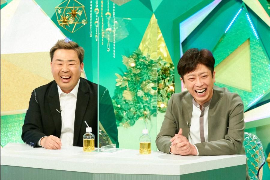 ゲストのフットボールアワー(左から、岩尾望・後藤輝基)(C)ABCテレビ