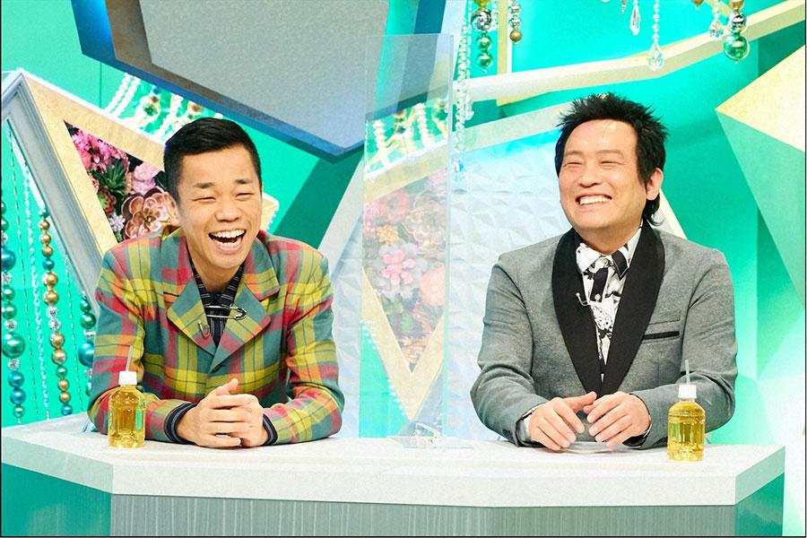 「あたりまえ体操」でおなじみ、COWCOW(左から多田健二、善し)(C)ABCテレビ