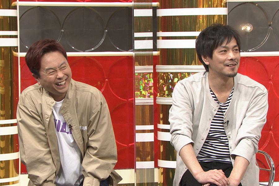 スタジオメンバーの次長課長(左から、河本、井上)(写真提供:MBS)
