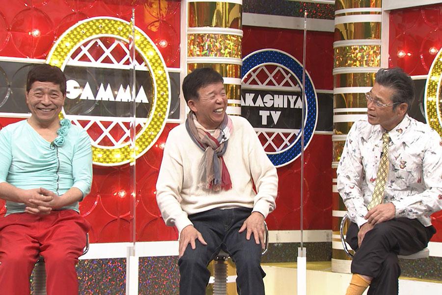 左から、松尾伴内、村上ショージ、間寛平(写真提供:MBS)