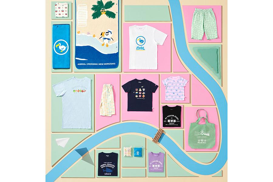 グラフィックTシャツシリーズ「UT」と『あつまれ どうぶつの森』がコラボ