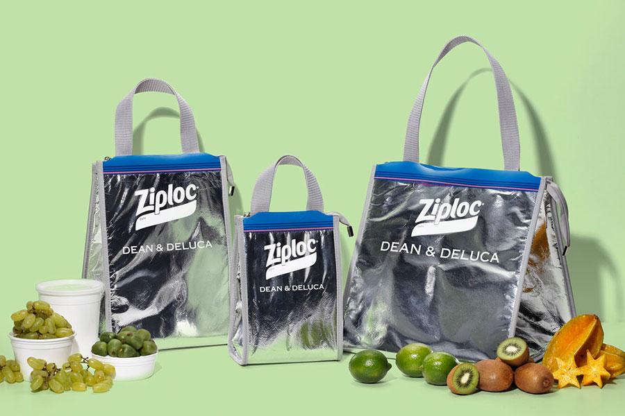「ビームス クチュール」、「ディーン&デルーカ」、「ジップロック」の3社がコラボし、『クーラーバッグ』を発売。
