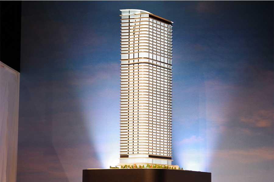 2024年完成予定の超高層タワー