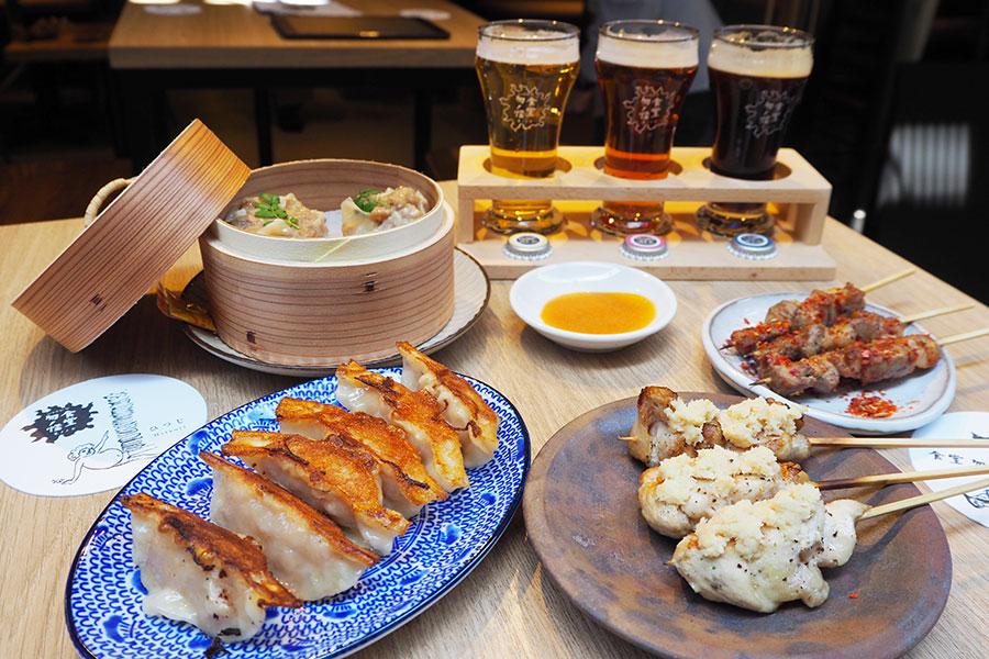 羊串、焼鳥、餃子、シュウマイが楽しめる「食堂 勿ノ怪」