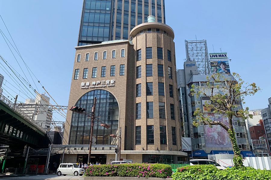 開業する「神戸三宮阪急ビル」、アーチ窓などかつての姿再現