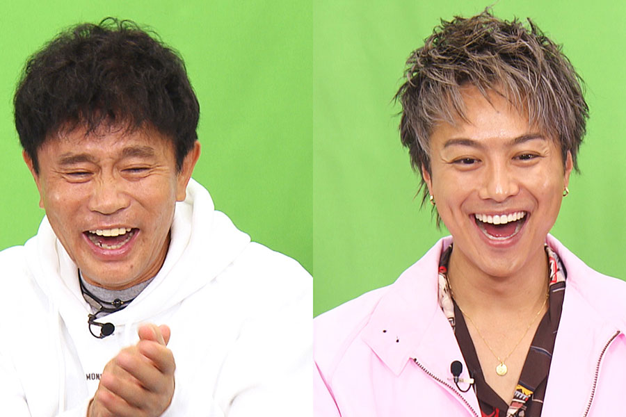 EXILE TAKAHIRO(右)、浜田雅功(写真提供:MBS)