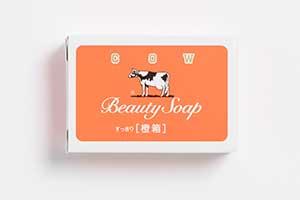 牛乳石鹼×BEAMSコラボ第2弾、かわいいオレンジ箱