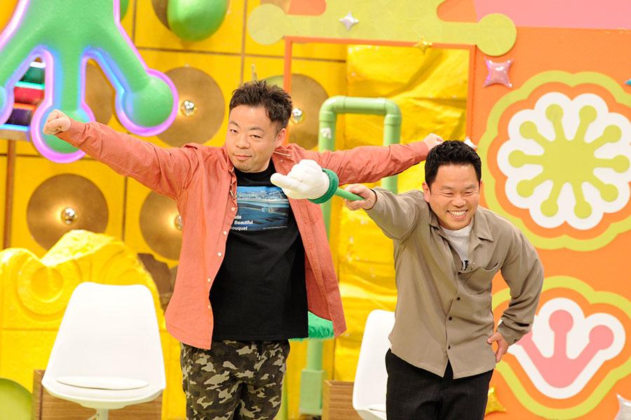ダイアン(左からユースケ、津田)(C)ABCテレビ