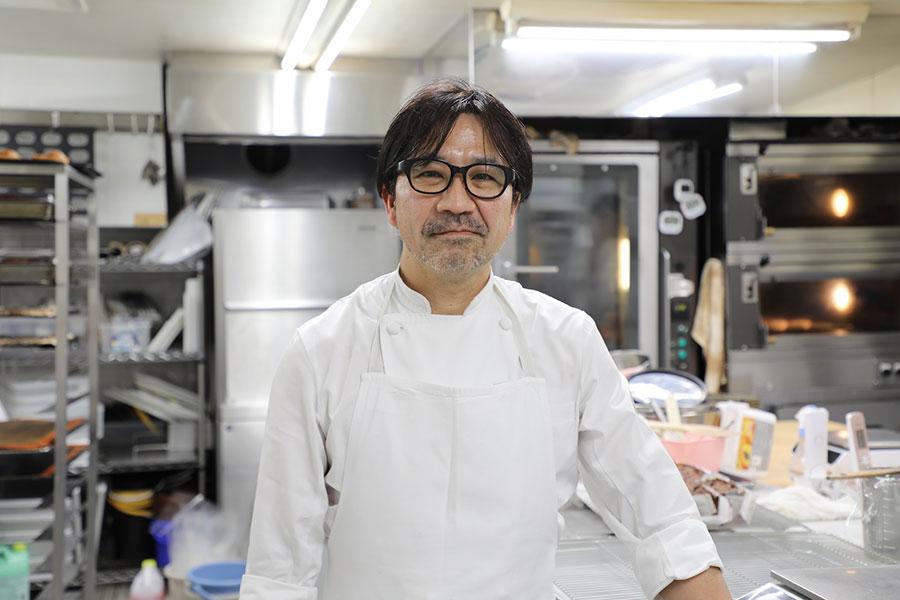 パリセヴェイユのオーナーシェフ・金子美明さん (C)MBS