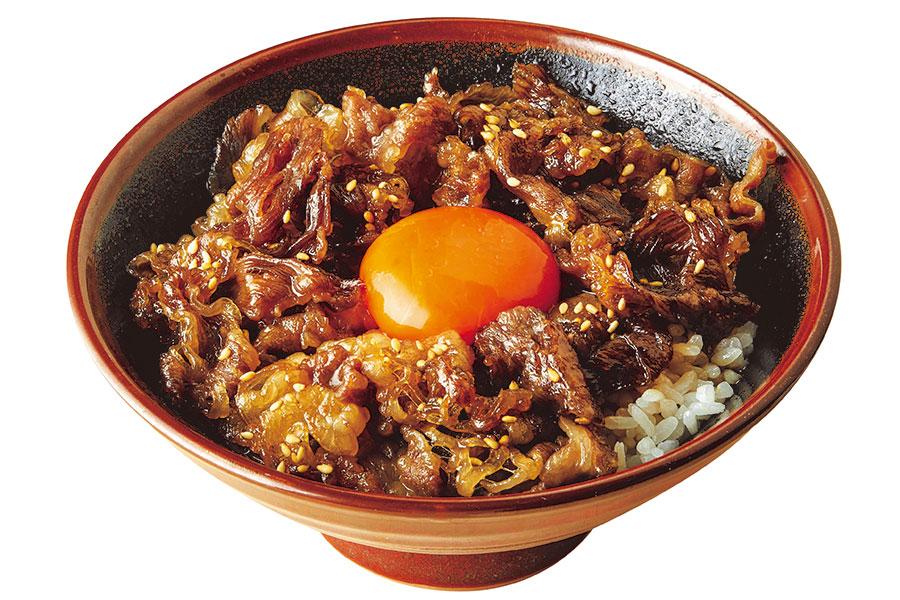 「神戸牛すき焼き丼」(590円)
