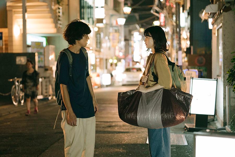劇中の自主映画でスタイリストを担当する城定イハを演じる中田青渚。(C)「街の上で」フィルムパートナーズ