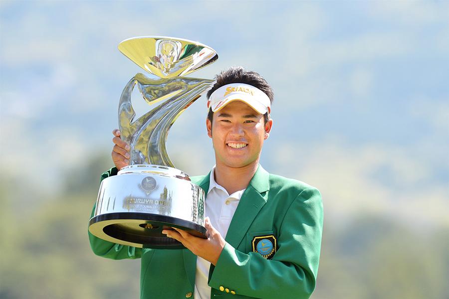 2013年の『つるやオープンゴルフ』でプロ初優勝を飾った松山英樹選手(写真は当時のもの)