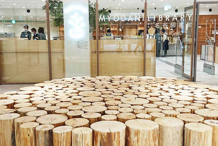 神戸のデパートに図書館オープン、新しい試みに注目