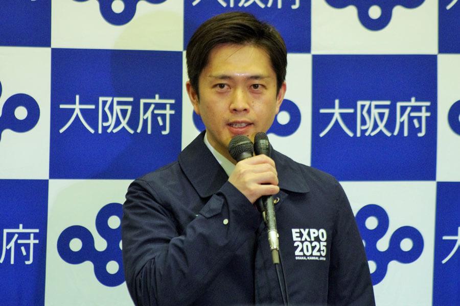 吉村洋文知事(写真は3月31日)
