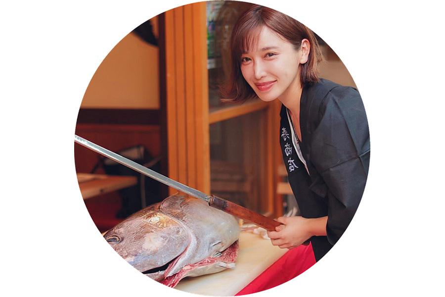 人気料理チャンネル「魚屋の森さん」の森朝奈さん