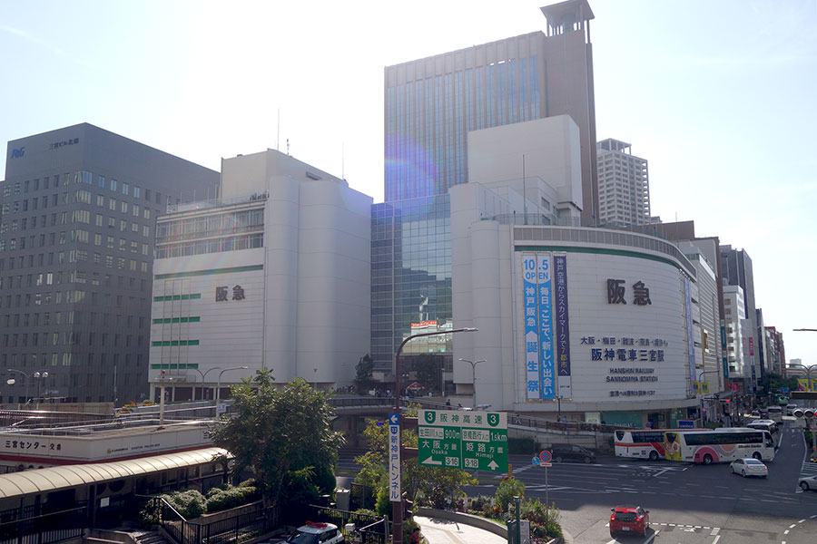 神戸・三宮の様子(2019年撮影)