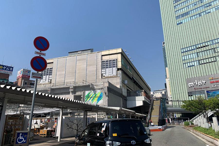 「ミント神戸」前(ポートライナー三宮駅)も待ち合わせスポット