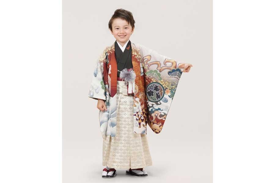 5歳男児用(110cm)リザードン羽織