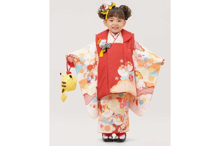 3歳女児用(100cm)イーブイ被布