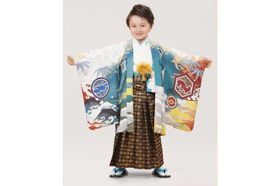 5歳男児用(110cm)レックウザ羽織