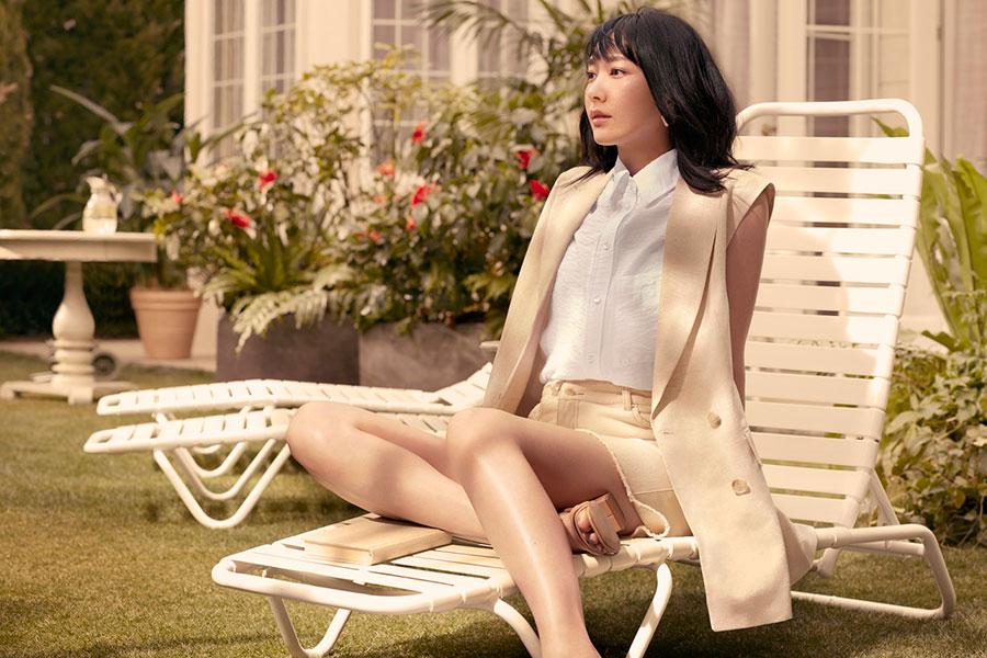 「H&M」の新アンバサダーに就任した新垣結衣