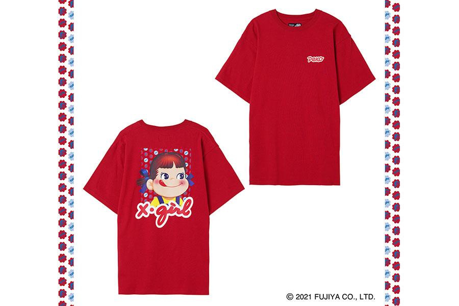 X-girl × PEKO MILKY S/S TEE 6050円