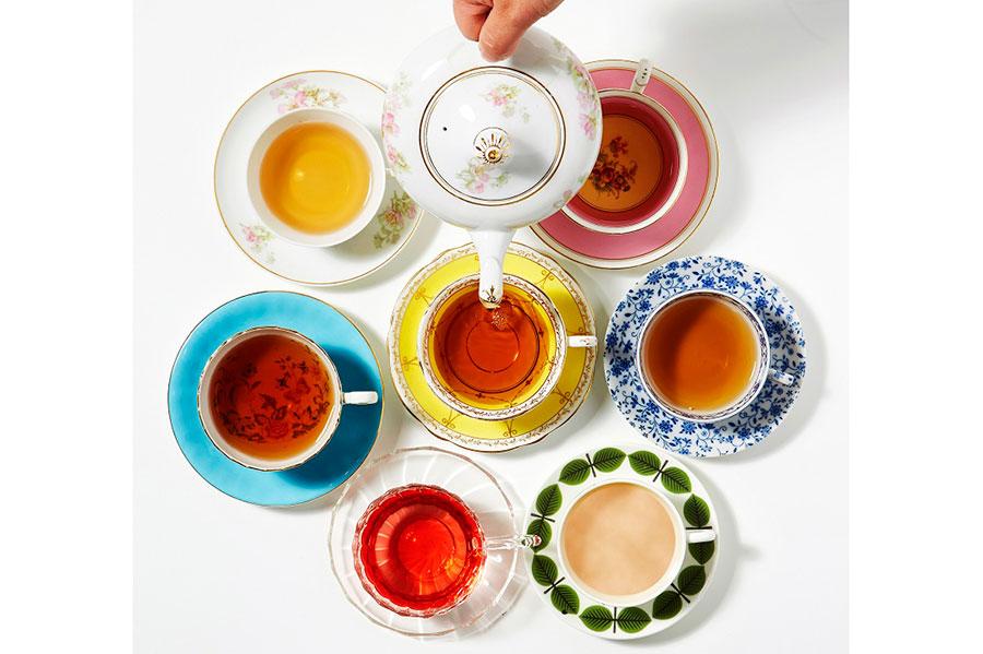 世界各国のお茶がそろう(イメージ)