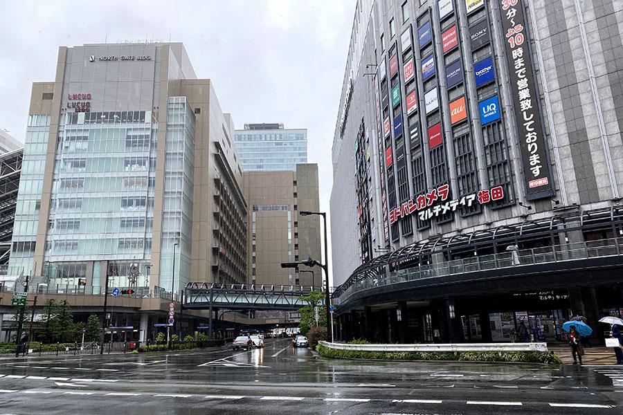 大阪・梅田のGW初日は静かな幕開け、おうち時間に備える人も