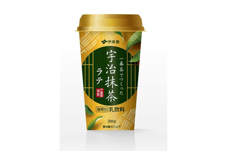 一番茶でつくった宇治抹茶ラテ(198円)