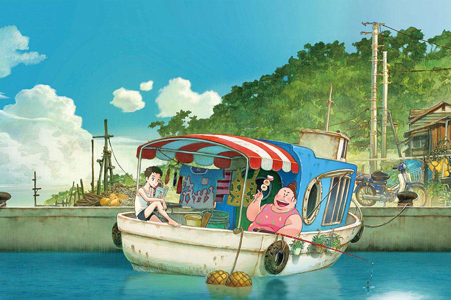 6月11日に公開を控える劇場アニメ映画『漁港の肉子ちゃん』 (C)2021「漁港の肉子ちゃん」製作委員会