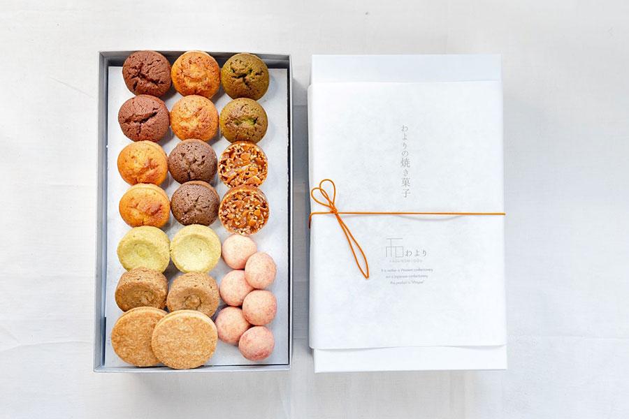 「わよりの焼き菓子」(10種セット)3200円