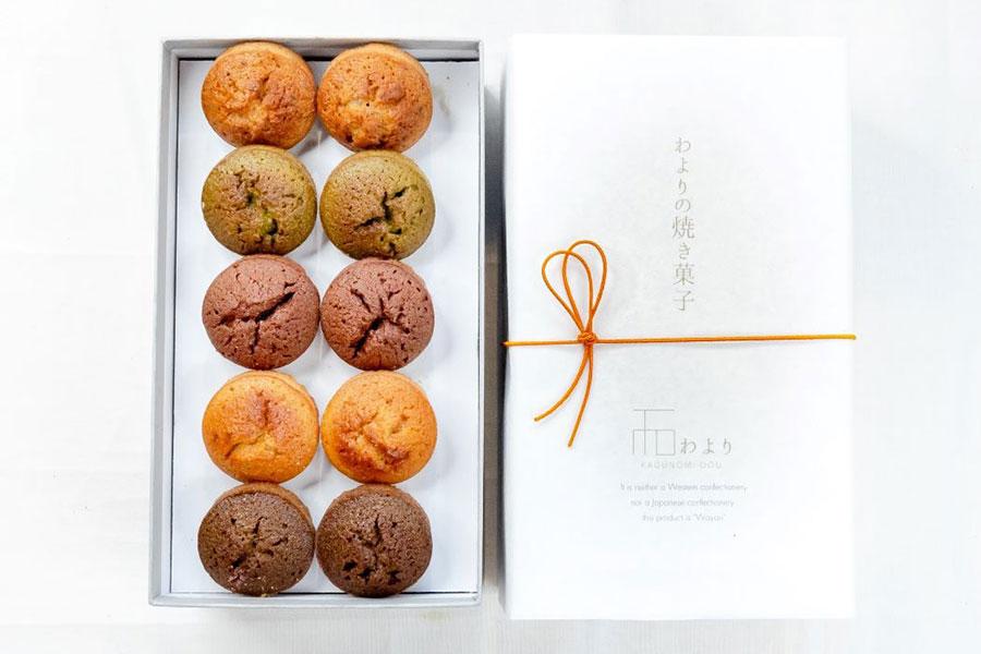 わよりの焼菓子 5種セット(フィナンシェ) 1800円