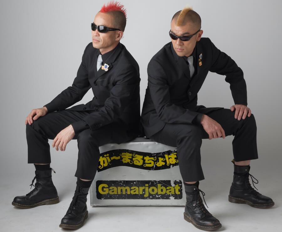 が〜まるちょば時代のケッチ(左・赤モヒカン)とHIRO-PON