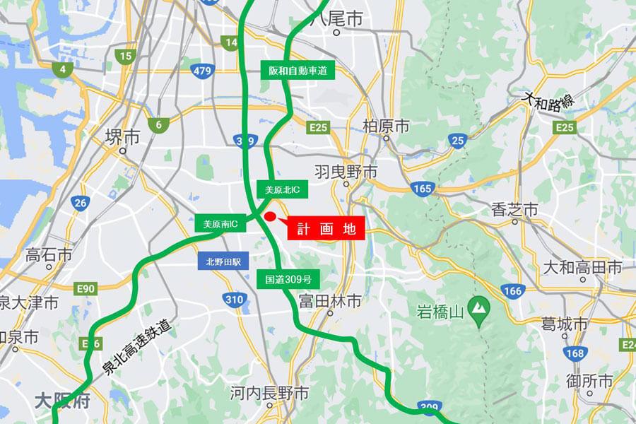 大阪南部・堺市の東端に位置する「(仮称)三井ショッピングパーク ららぽーと堺」