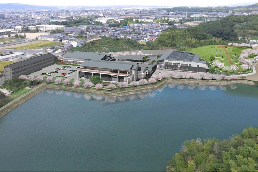 奈良の新・観光スポット、芸術文化村が2022年オープン