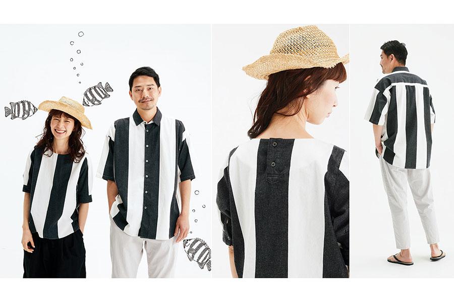 サニークラウズ サンバソウトップス(レディース4620円、メンズ6490円)