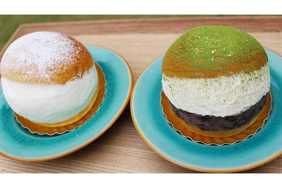 左から「プレーン」「ジャポネ」、各2個ずつの4個セットで販売される(1500円)