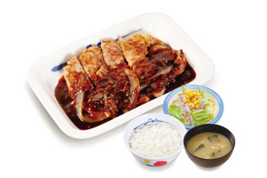 厚切りトンテキ定食 トンテキソース(730円)
