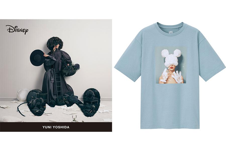 5月7日より発売となる「ディズニー ミッキーマウス & ミニーマウス アート バイ 吉田ユニ」(WOMEN / 1500円)