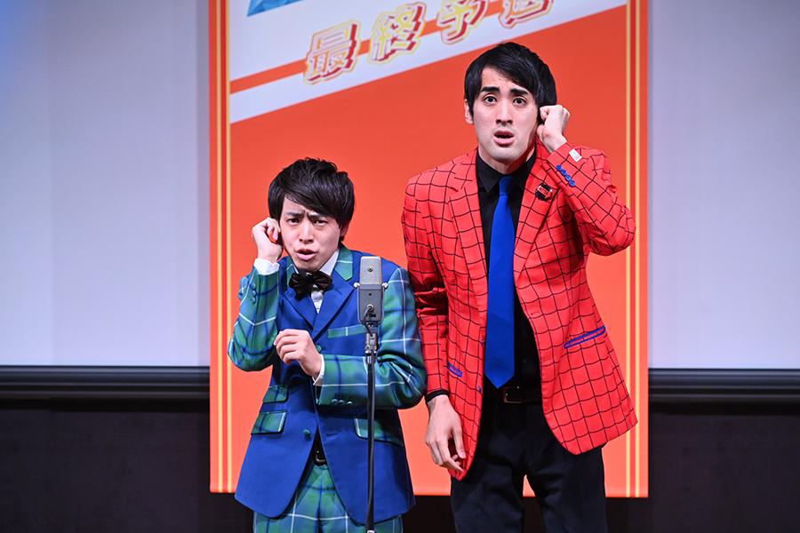 決勝進出者・さすらいラビー(C)ABCテレビ