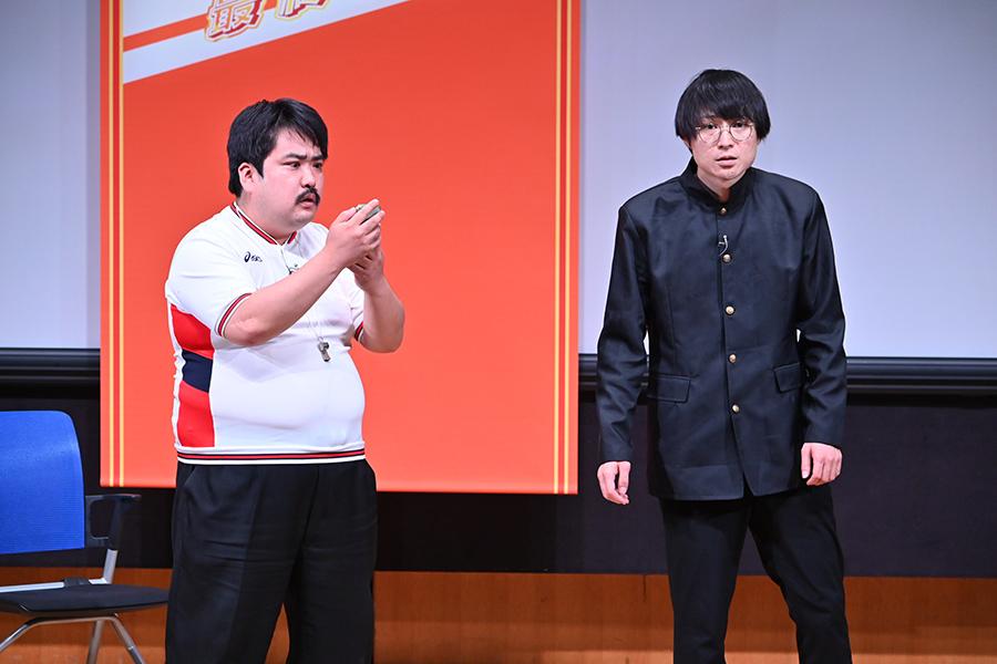 決勝進出者・空気階段(C)ABCテレビ