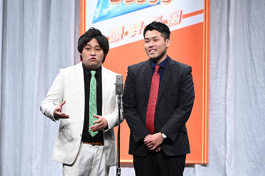 決勝進出者・ダブルヒガシ(C)ABCテレビ