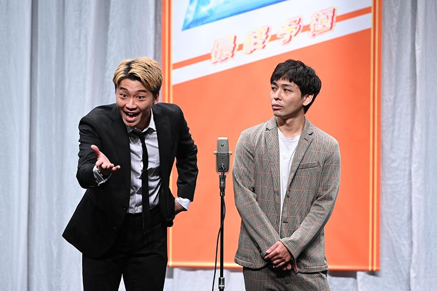 決勝進出者・さや香(C)ABCテレビ