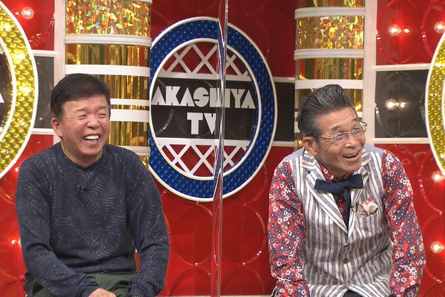 (左から)村上ショージ、間寛平(写真提供:MBS)