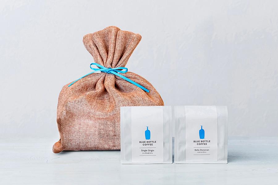 <ポップアップストア限定商品>コーヒーセット3456円、好みに合わせて、コーヒー豆の種類をセレクトいただけるお得なセット