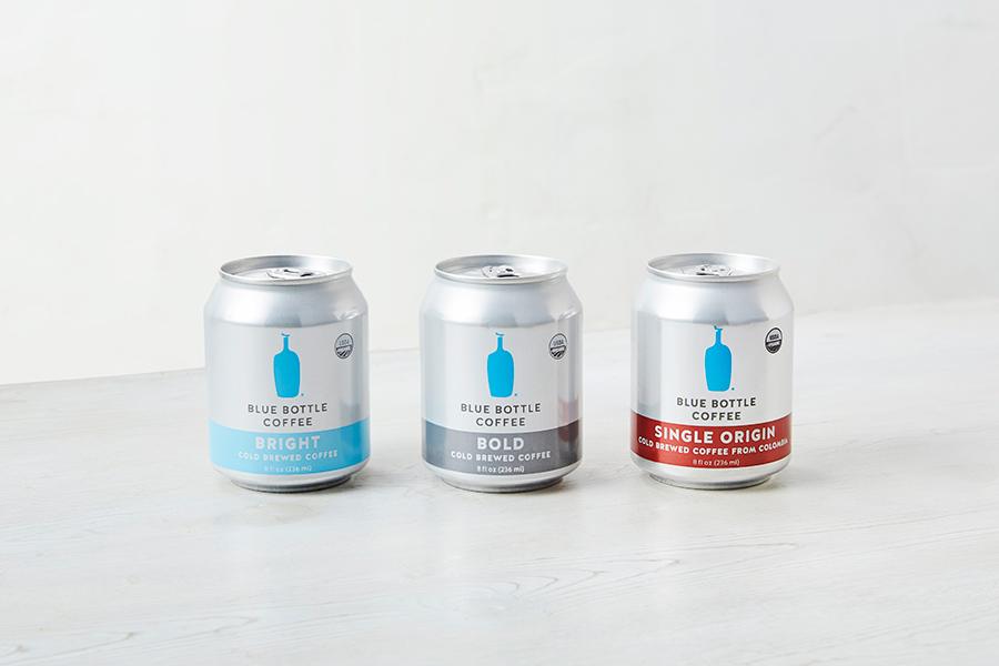 コールドブリュー缶 各648円、2017年に発売され日本では珍しい非加熱製法で作られたクリアな味わい