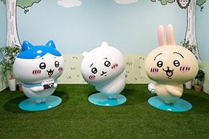 「ちいかわ」展覧会が大阪で開催、「草むしり」も体験可能